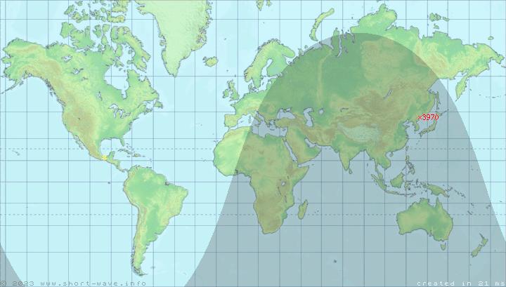 Short-Wave Radio Frequency Schedule for site Chongjin-Nanam on capital of korea, n. korea, map from florida to korea, area of russia near korea, pyongyang korea, world map korea,